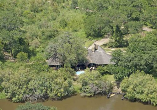 Africa; Zambia; Mosi-oa-Tunya National Park; Sanctuary Sussi & Chuma Lodge; Aerial View