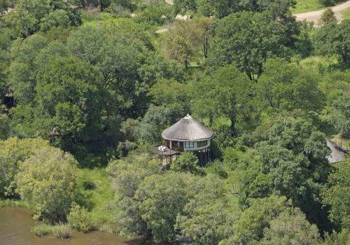 Africa; Zambia; Sanctuary Sussi and Chuma; Treehouse